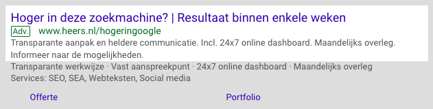advertentiekosten google