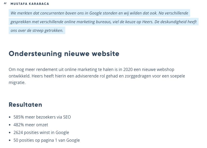 Voorbeeld Case DHK - Blog - 5 manieren om merkautoriteit op te bouwen met content marketing